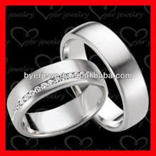 plain surface polished tungsten jewelry glans rings