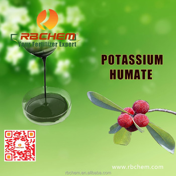 RBCHEM potassium humate organic fertilizer for rubber tree