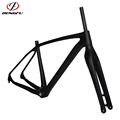 Dengfu New Arrival 650B OEM MTB Frameset 27.5er UD matt carbon fiber mountain bike frame BB30 BSA