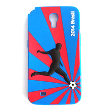 Custom smart phone cover silicone rubber mobile phone case world cup design