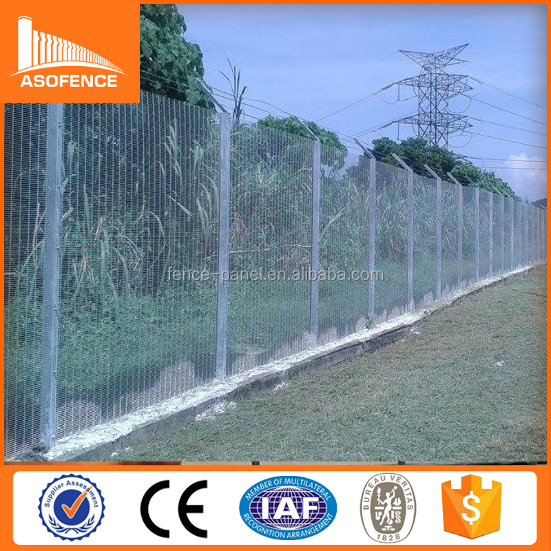 UK Market High Security Mesh Panel Pro-sure 358 Fencing