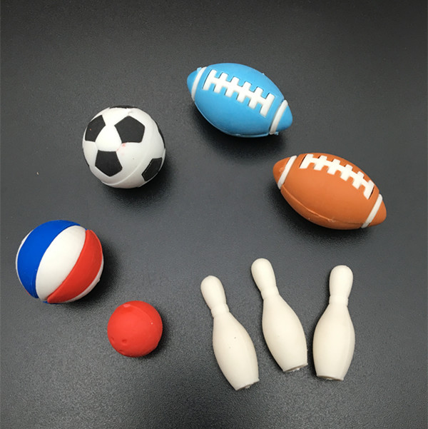 8 Sports Balls for Kids - Soccer Ball, Basketball, Football, Bowling