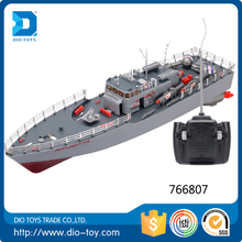 Toy selling 1/115 Plastic rc boat for fishing