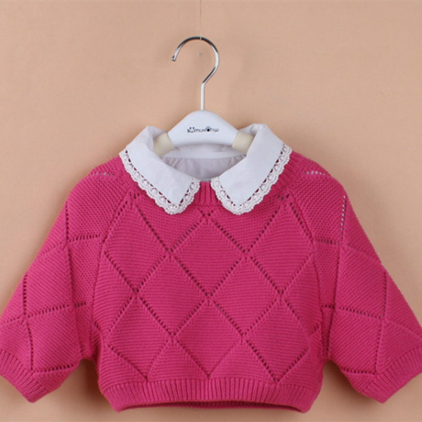 Chinese Supplier OEM Design Welcomed Woolen Sweater Designs For Girls