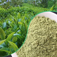 green powder lemon powder matcha green tea powder