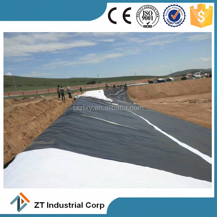 1mm hdpe waterproof membrane roof pond liner geomembrane
