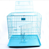 Foldable Heavy Wire Safety Double Insurance Buckle Exquisite Workmanship Pet Dog Cage