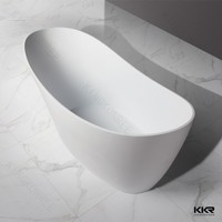 freestanding acrylic solid surface dog bathtubs