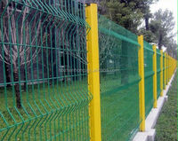 Quality-assured high quality china supplier powder coated wire mesh fence