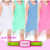 Kids clothes online girls dresses cotton fringed baby dress cozy summer dress