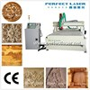 china cnc router machine/wood cutting machine 3d with vacuum table and dust collector