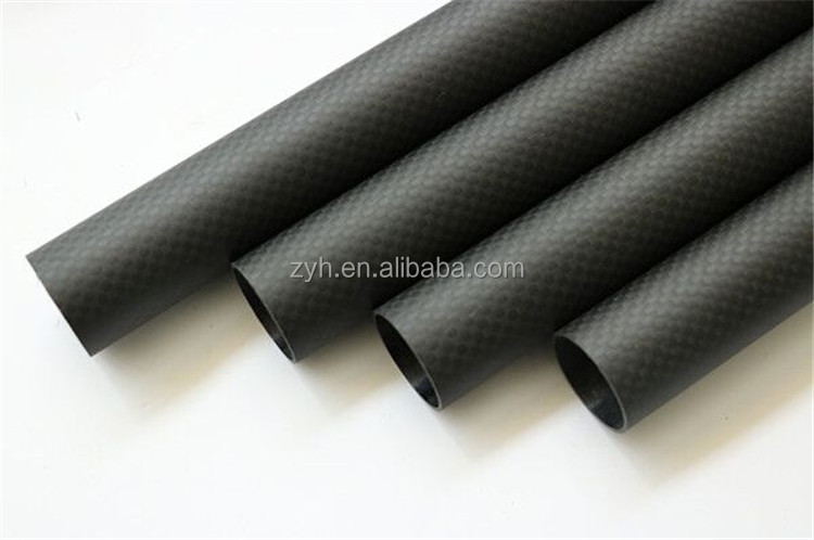 ZYH carbon fiber tube, carbon tube, 3k carbon tube with factory cheap price