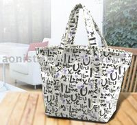 shopping bag hand bag lady non woven PP bag