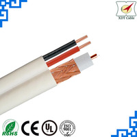 Competitive China Factory Price RG59+POWER CCTV Cable