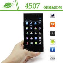 4.5 inch IPS MTK6582 Quad Core RAM 1G ROM 4G Camera 2.0M 5.0M Bluetooth GPS android cheap smartphone with sim card slot