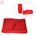 Blanket fleece adult customized washable blanket walmart supplier in China