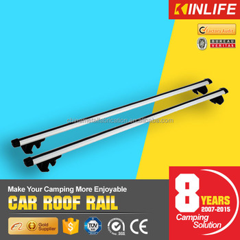 Heavy Duty Removable Aluminum Automobiles Roof Luggage Rack Lockable Crossbar