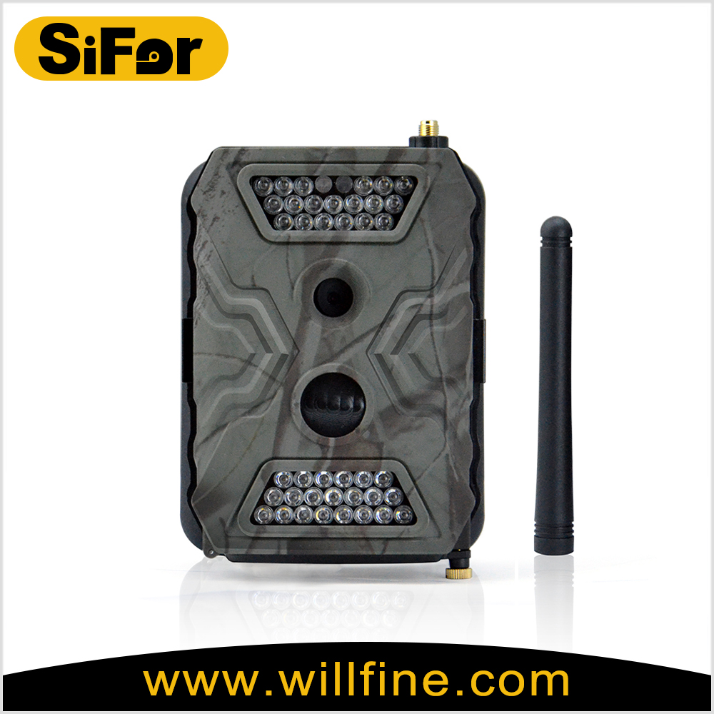 Cell phone control 12M high quality picture gsm/mms/sms hunting trail camera