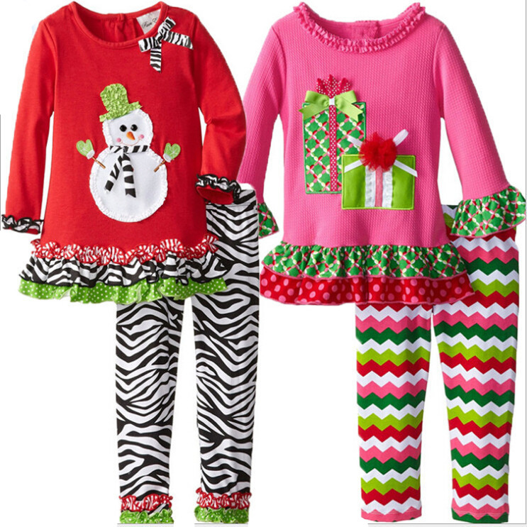 2015 new childrens boutique christmas outfits for <strong>kids</strong>