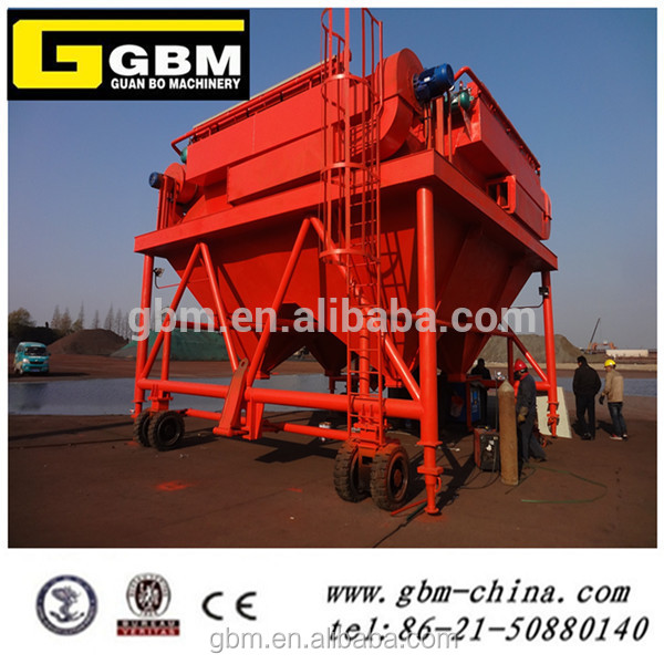 Industrial Port Mobile dedusting dumping Hopper for bulk cargo Shanghai