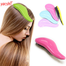 yaeshii factory custom logobulk cheap price unique detangling hair brush