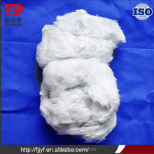 Cheap price 1.5D 38mm 100% solid recycled polyester material polyester staple fiber for sofa,toy padding