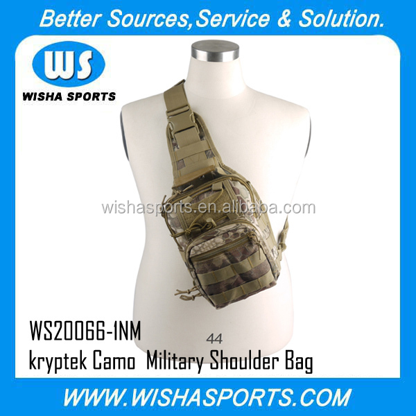 Military bag Kryptek Nomad 600D Military Tactical Utility Gear Shoulder Sling Bag