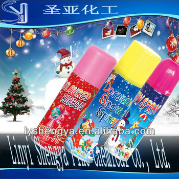 New year party snow spray manufactory