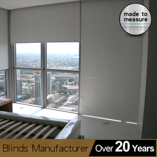 Automatic wireless Block out curtain roller ELECTRIC roller shades