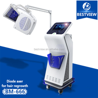 Newest 670nm laser world best hair regrowth products for hair loss treatment