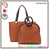 LX38 New Spring 2016 Style Set Bag Simple bag Hot Sell in Europe and US PU Handbags Wholesale Factory