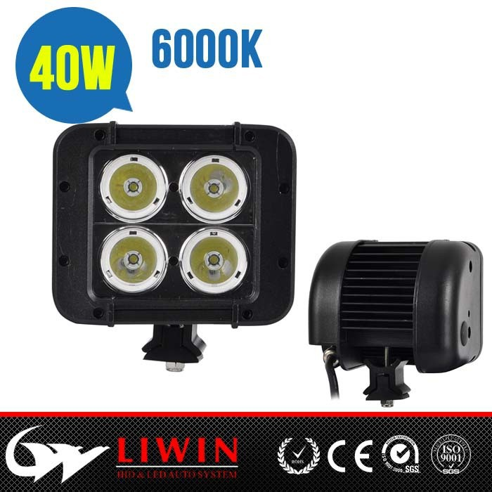 "LW New and Hot lw led 4.6"" 40W off road automotive light lexan for all car"