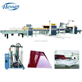 Guangzhou Hessan high quality MDF panel paper laminate machine / woodworking machine