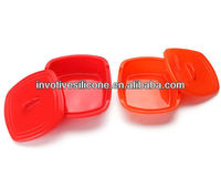 New Design food grade folding silicon container
