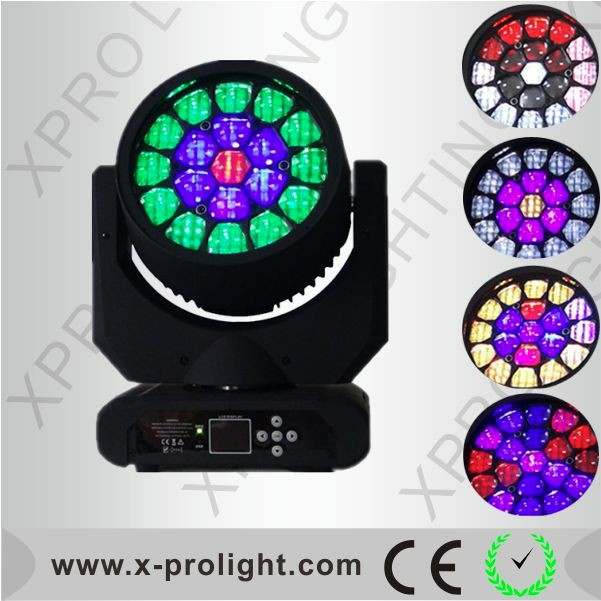 Professional stage light Martin Aura 19x12W led moving head light zoom mobile head beam light