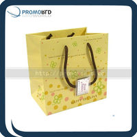 Wholesale cheap art custom luxury paper shopping bag