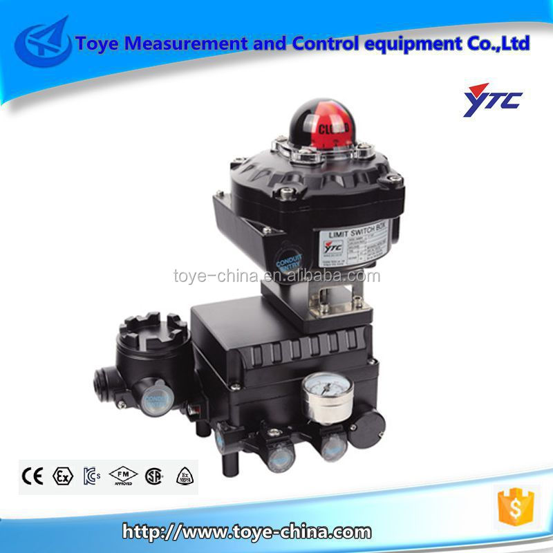 Electro Pneumatic Control Valve With Positioner YTC YT-1000R IP66 Wholesale