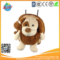 Soft Brown Dog Animal Trolley Bag
