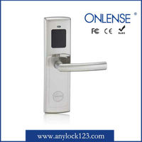 one card pass card keyless lock for hotel
