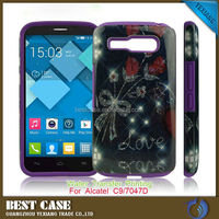 Wholesale Alibaba Hybrid Case For Alcatel One Touch Pop C9 Cover