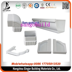 High quality plastic material for rain gutter