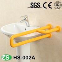 Handrail for elderly Bathroom Toilet Nylon Lift Up Grab Bar