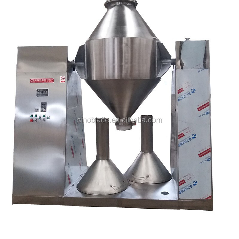 Pharmaceutical Chemical Industrial 3D lab Dry Powder Mixer