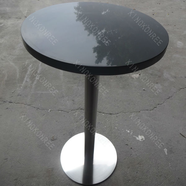 Marble top artificial stone small round outdoor coffee shop tables