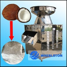 coconut meat grating machine with capacity of 1 ton per hour
