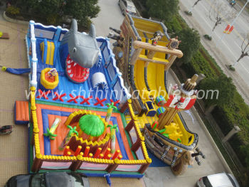 inflatable park,fun city\park amusement for entertainment