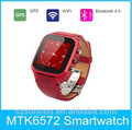 2015 OEM GPS Bluetooth Android4.4 GSM WCDMA android wifi watch phone
