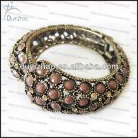 metal diamond Indian bangle