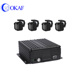 4CH Mobile DVR Video Recorder for Vehicles Buses Cars Vans Boats