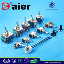 Daier 2 position waterproof 6 pin toggle switch